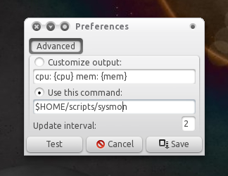 indicator-sysmon preference